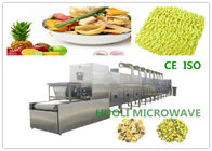 Tunnel Microwave Drying Machine For Instant Noodels / Industrial Microwave Dryer